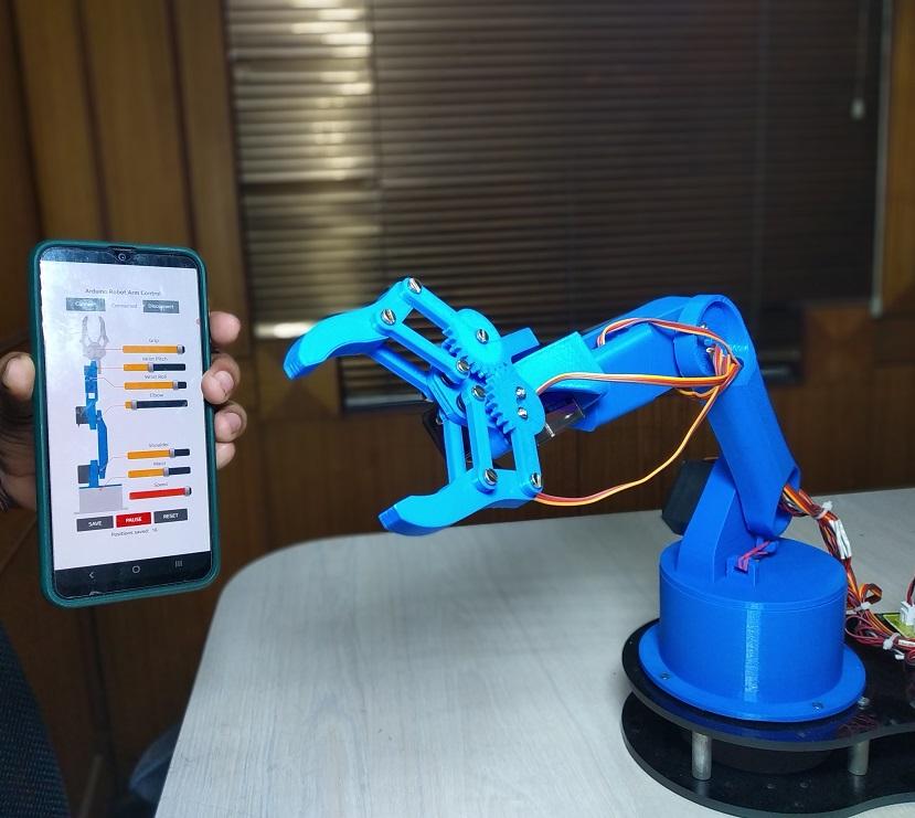 Nevon programmable robotic am arduino