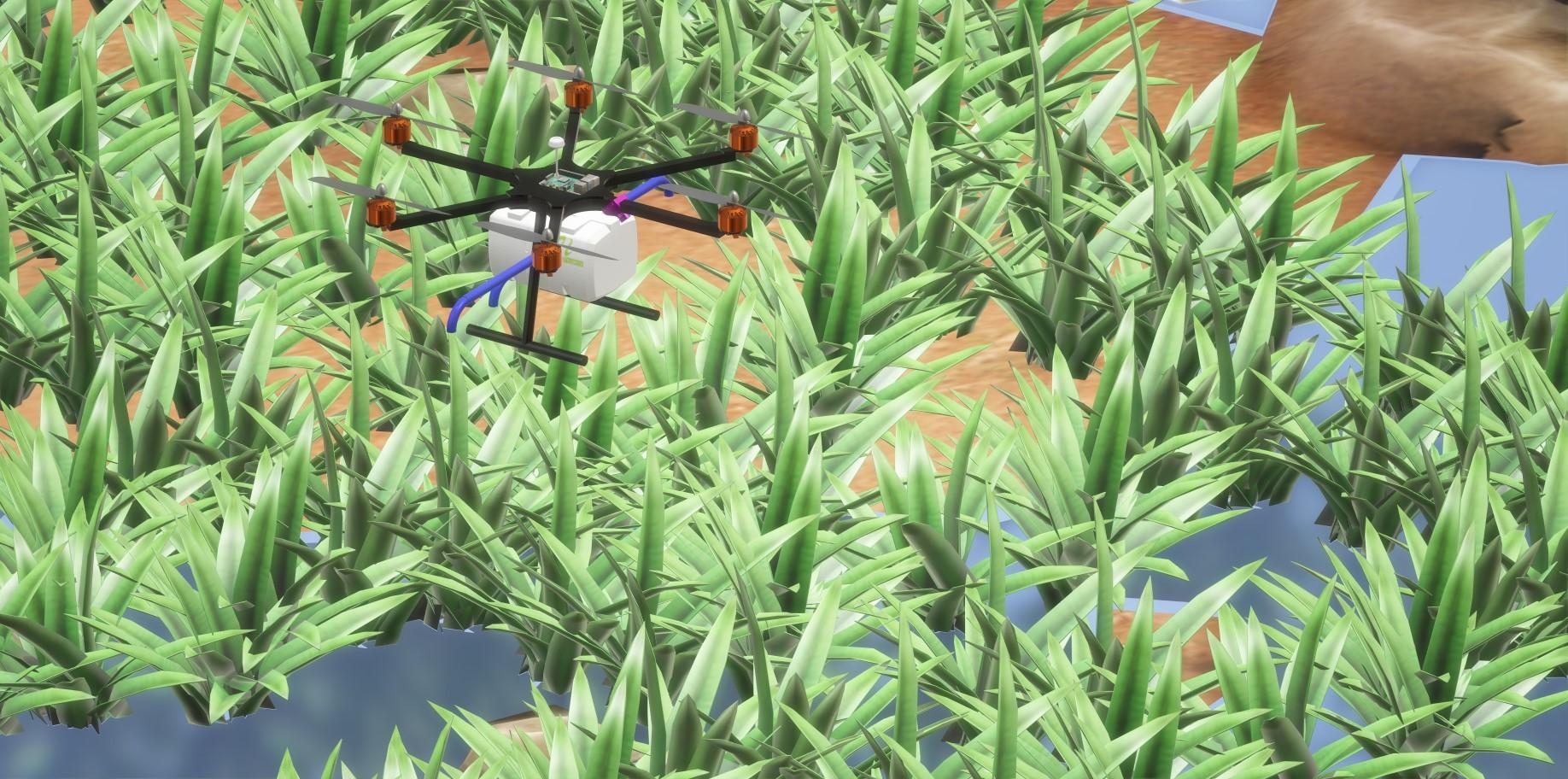 nevon agriculture pesticide sprayer drone