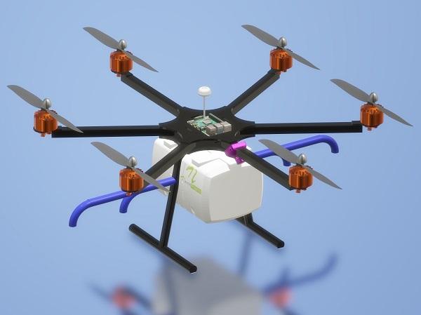 Nevon Agricultural Pesticide Sprayer & COVID Sanitization Drone