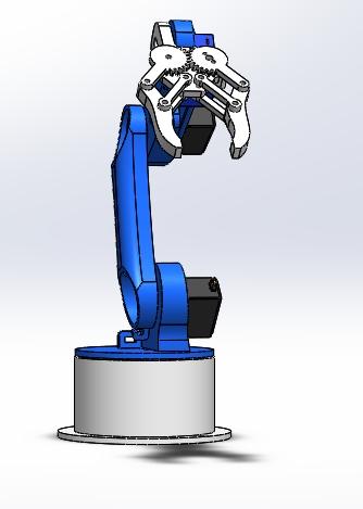 Nevon programmable robotic arm front