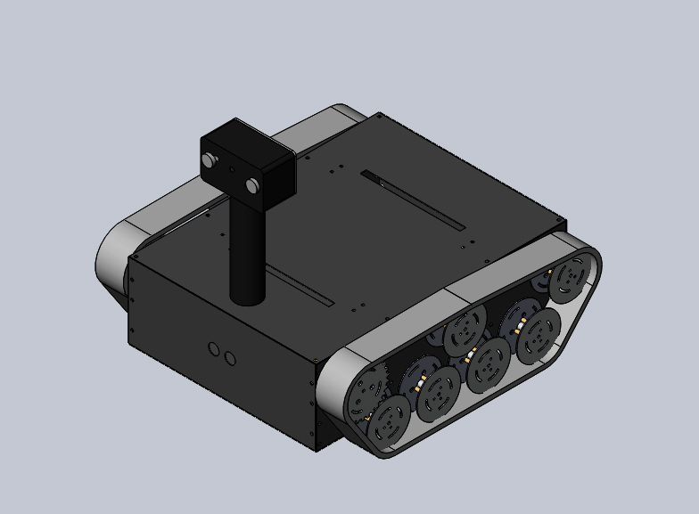 nevon rc tracked inspection tank robot night ision