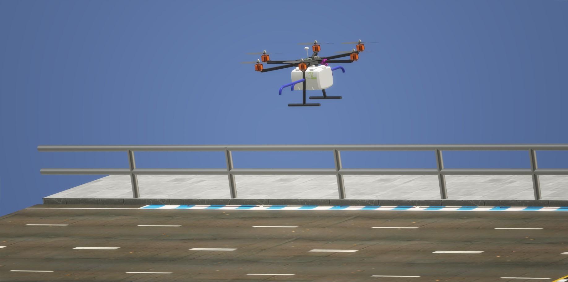 nevon COVID sanitization drone
