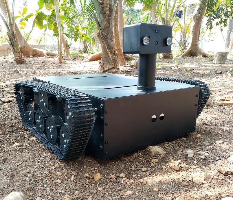 Nevon thermal vision rc robot tank