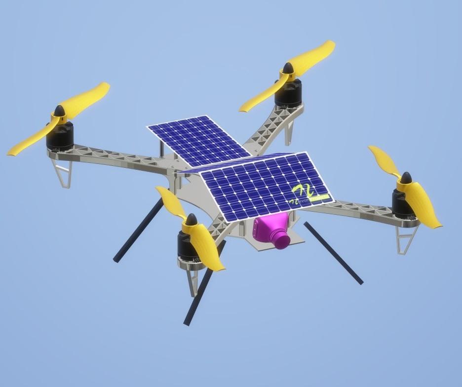 Nevon sola surveillance drone