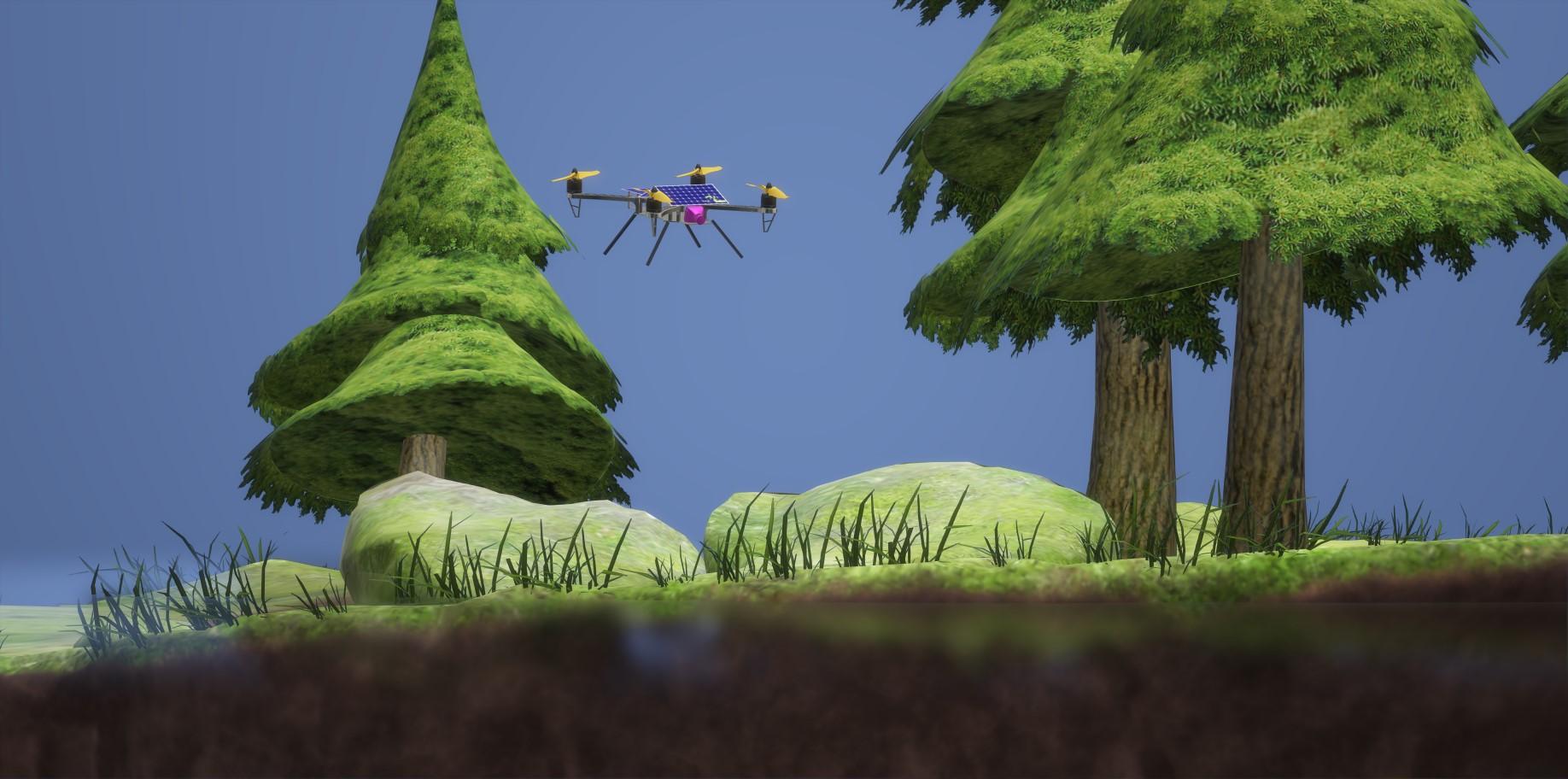 nevon diy search and rescue drone