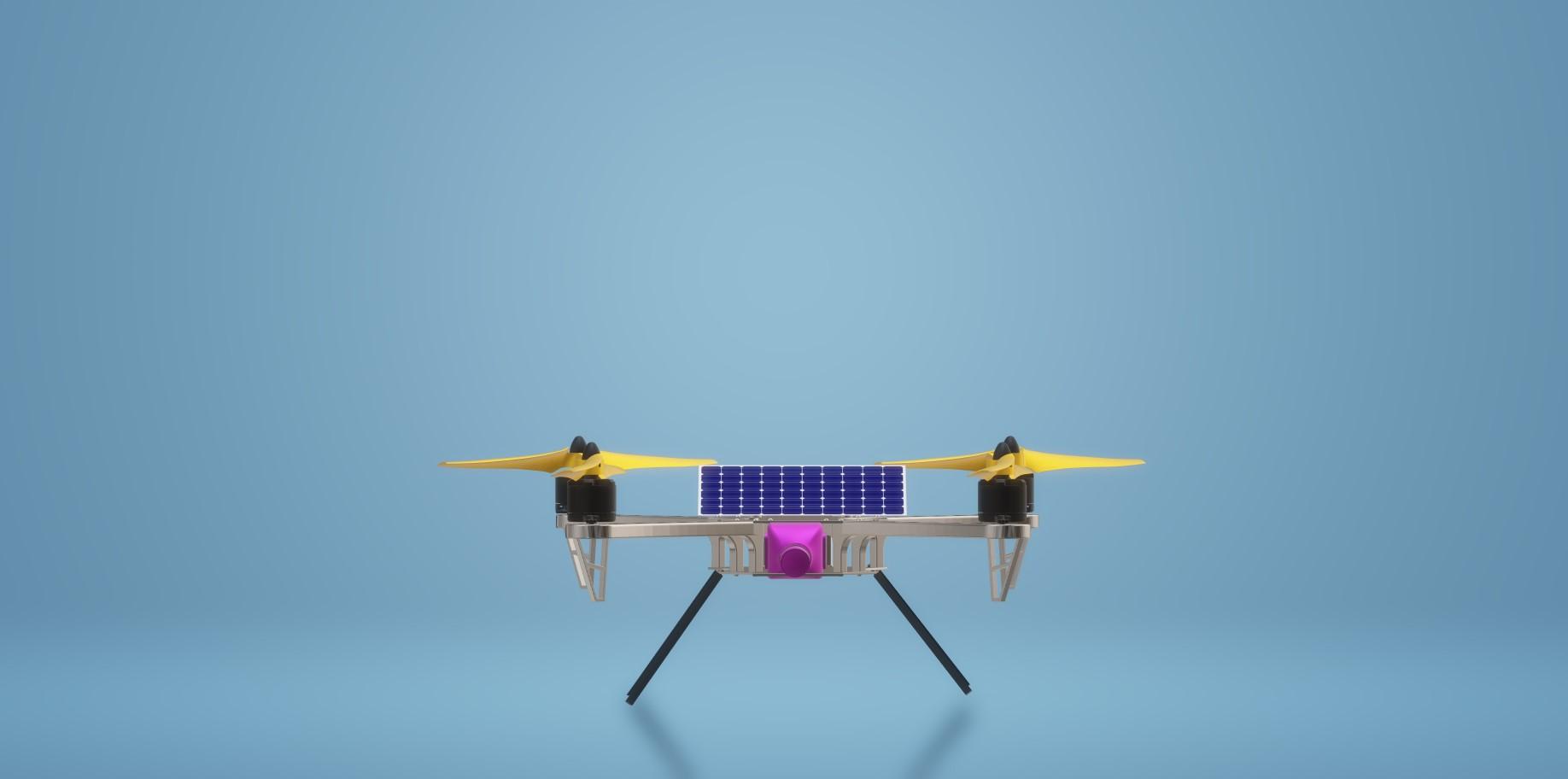 Nevon solar surveillance drone