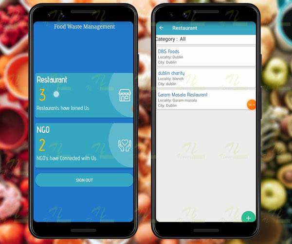 Nevon Waste Food Management & Donation App
