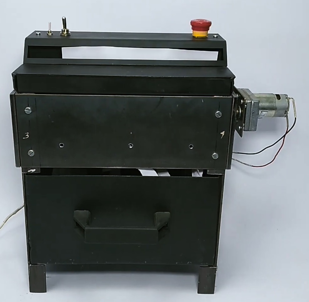 Nevon Motorized Paper Shredder Machine