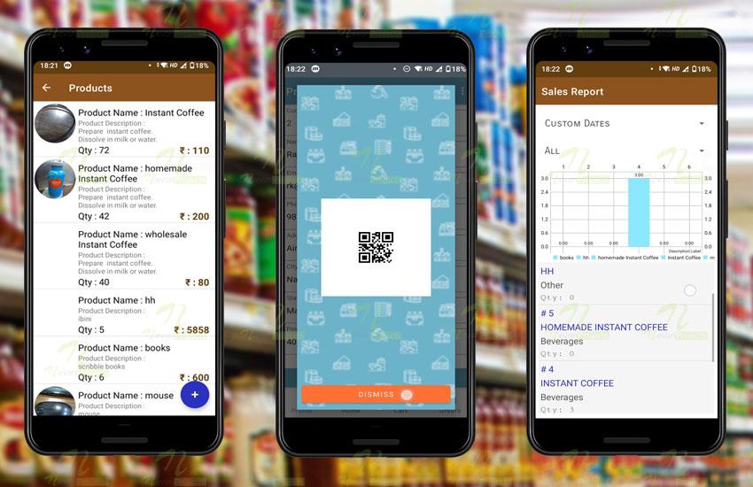 Nevon Retail Store Inventory & POS  Checkout App