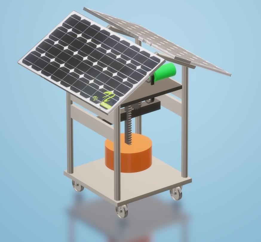 Nevon  Wave Power Generator With Solar