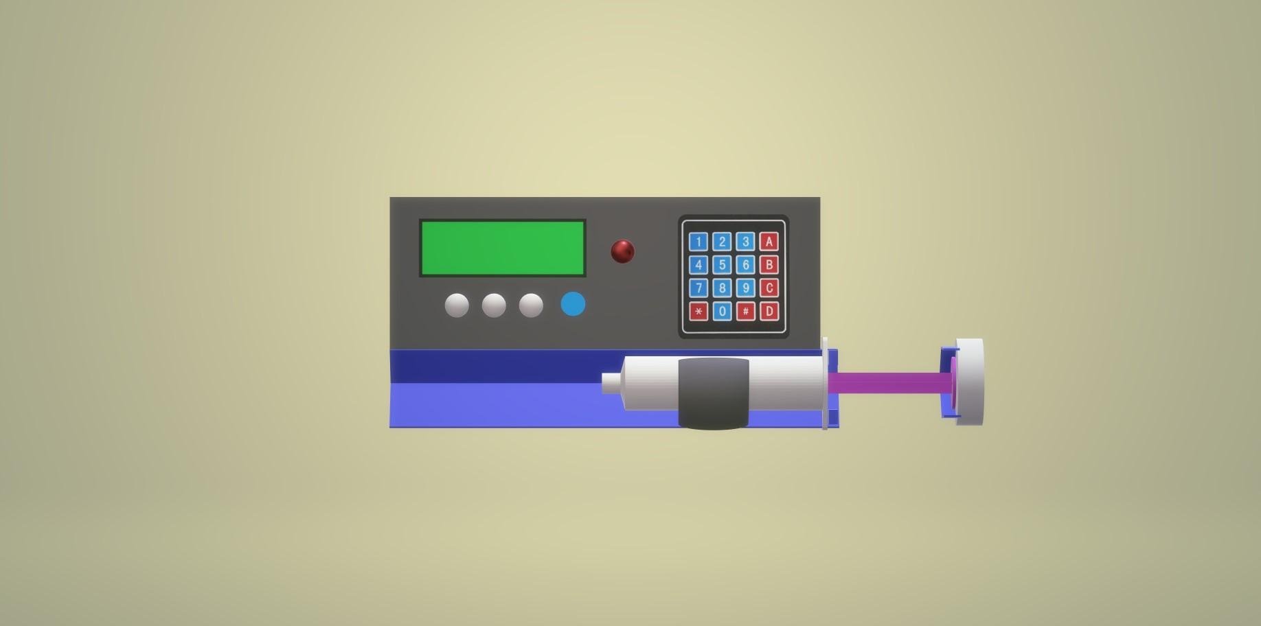 Nevon syringe pump