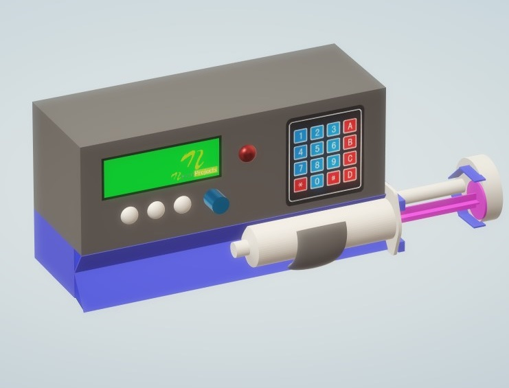 Nevon IOT Syringe Infusion Pump