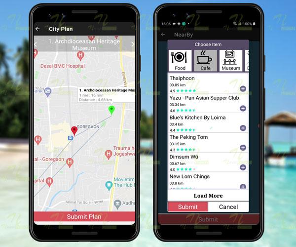 Nevon Tour Recommendation Online App