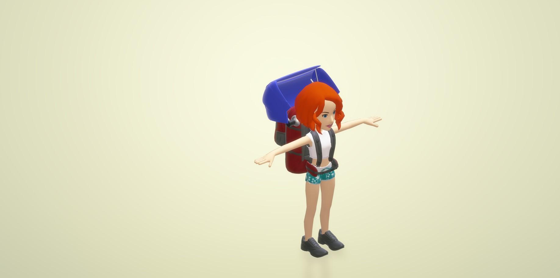 Nevon Rain Sensing Motorized Umbrella folded