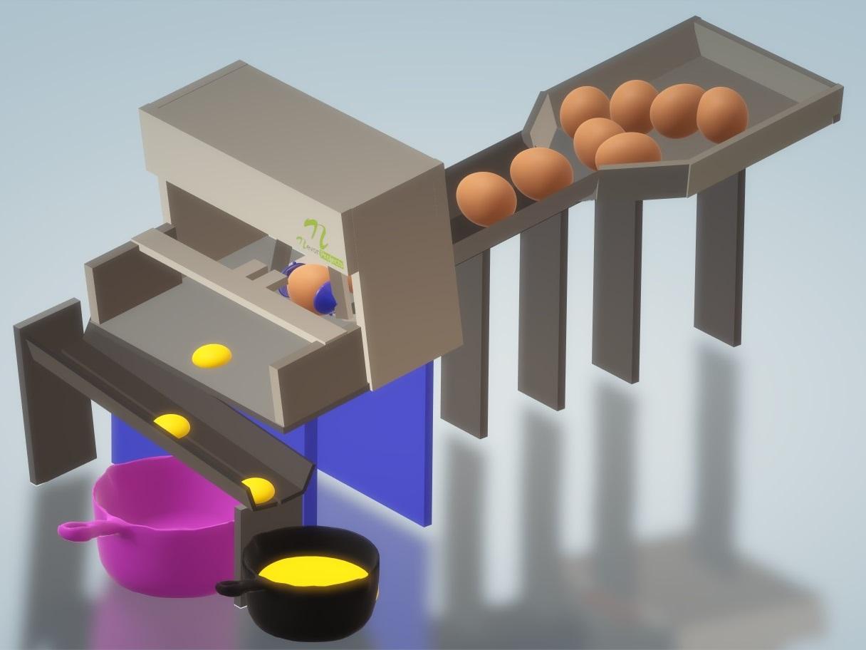 Nevon Egg Breaker & Yolk Separator Machine