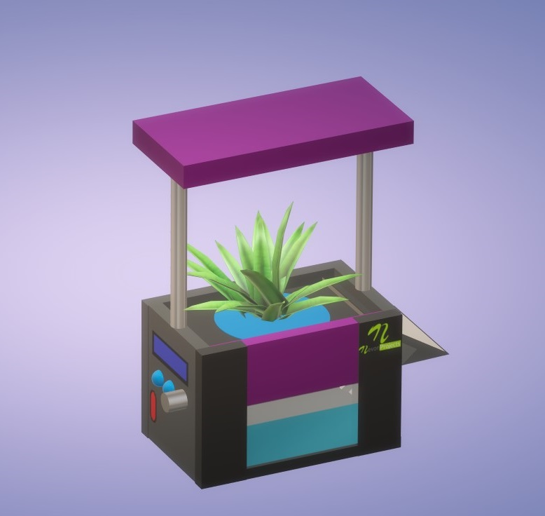 Nevon Indoor Hydroponic Plant Grow Pot