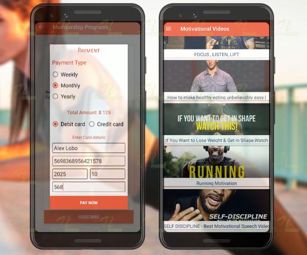 Nevon Fitness App With Workout Diet & Motivation