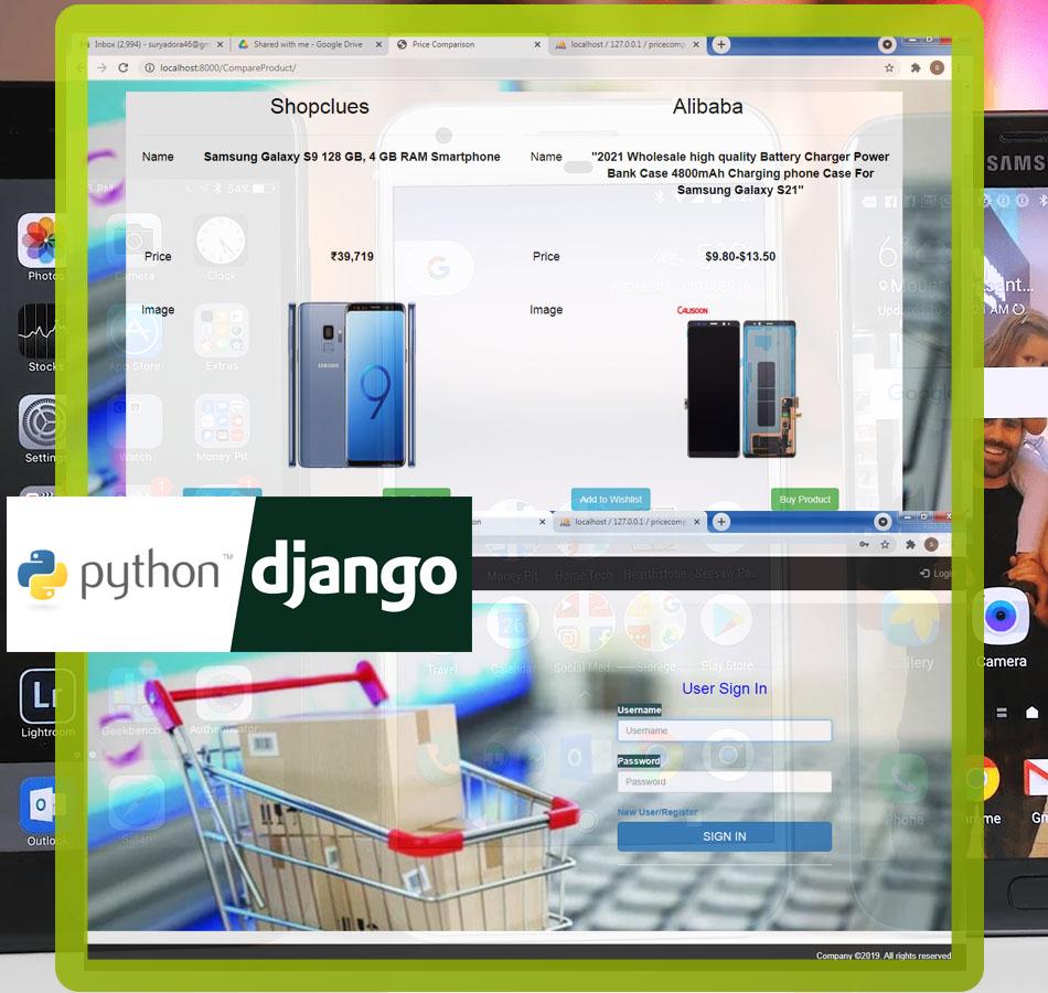 Nevon Price Comparison Website for Online Shopping