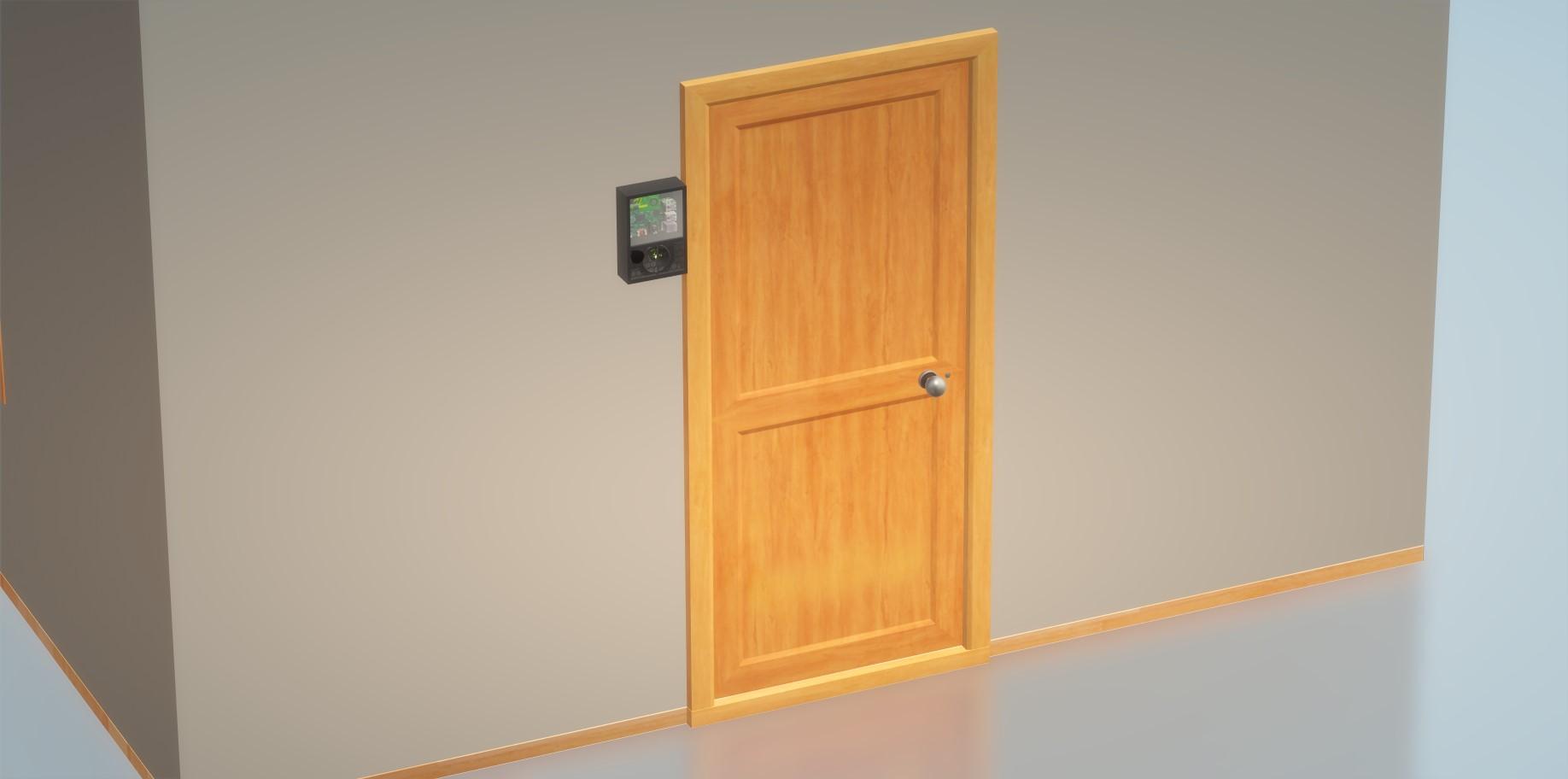 Nevon Contactless IOT Doorbell & Security System