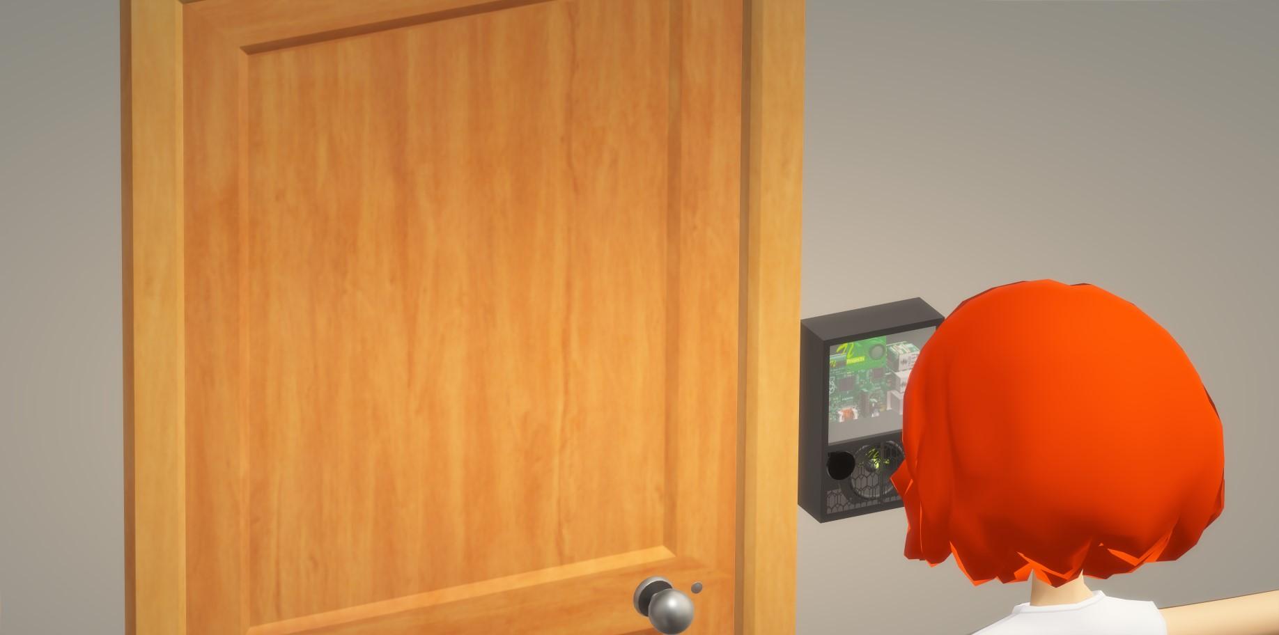 Contactless IOT Doorbell & Security System