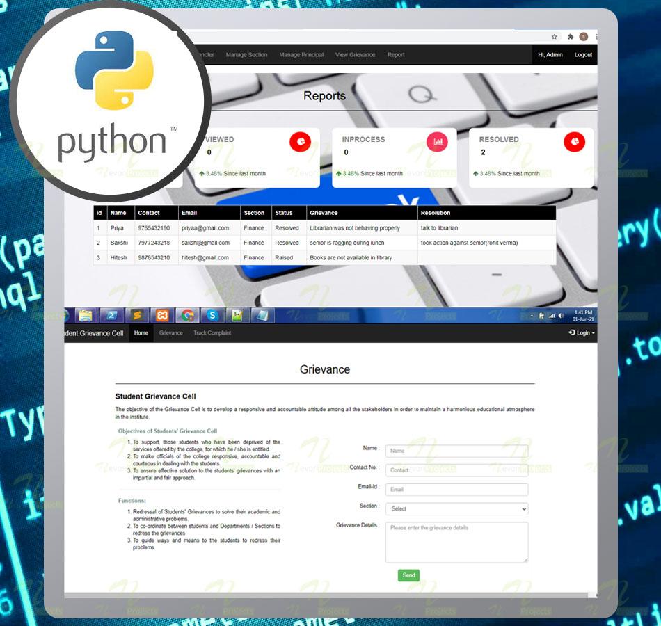Nevon Online Fashion Stylist Website python