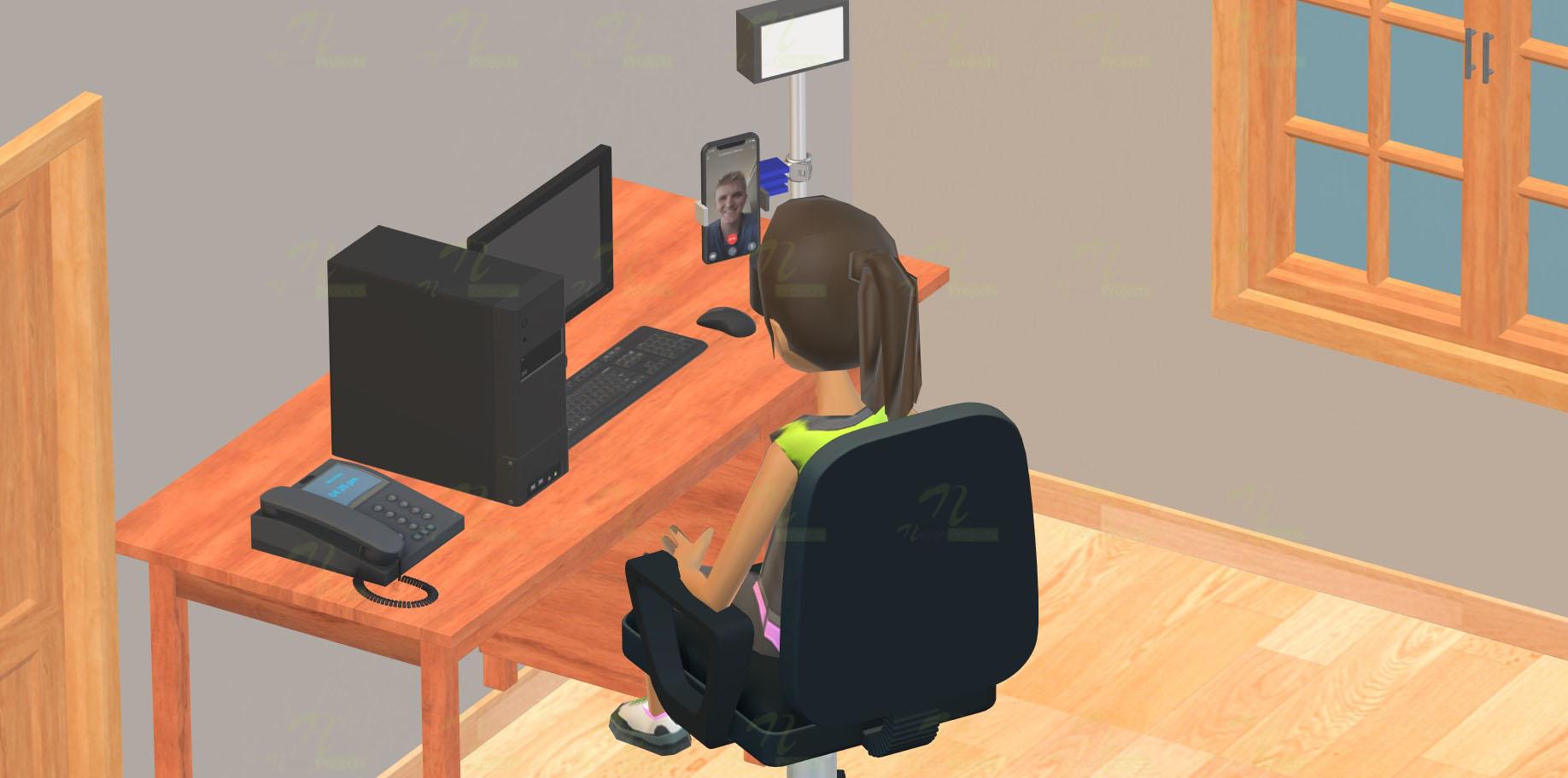 Nevon Video Calling/Recording Smartphone Stand