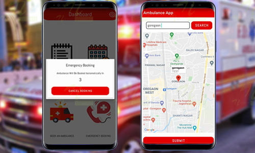 Emergency Ambulance Booking Android App