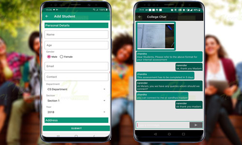 Android College Connect Chat App