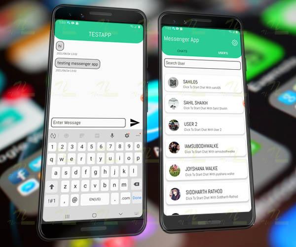 Nevon Android Messenger App