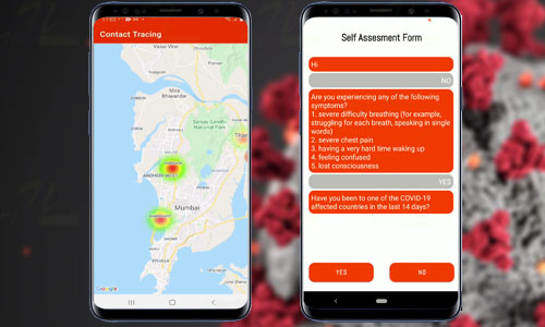 Covid Contact Tracing Android App