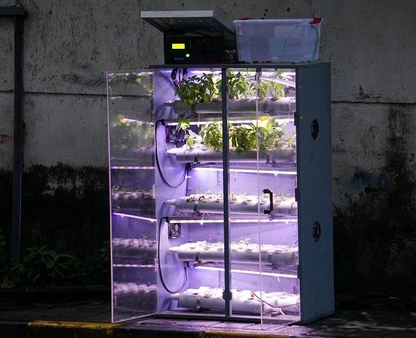 Indoor farming hydroponic tent