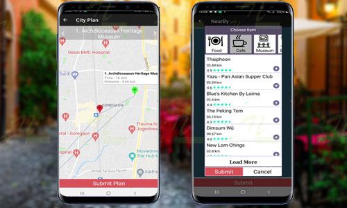 Android Tour Recommendation Online App