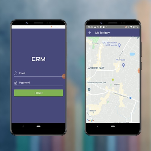 Nevon Sales CRM Android App