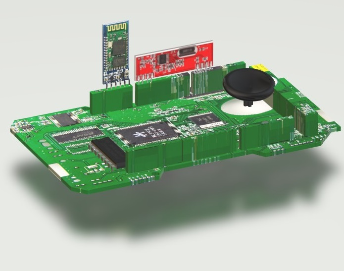 Wireless Master Joystick Controller for Robotics