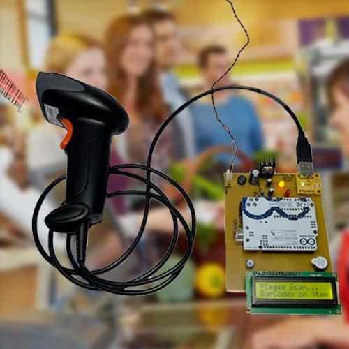 Barcode Scanner & Display using Arduino