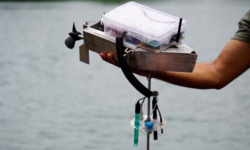 IOT Water Pollution Monitor RC Boat